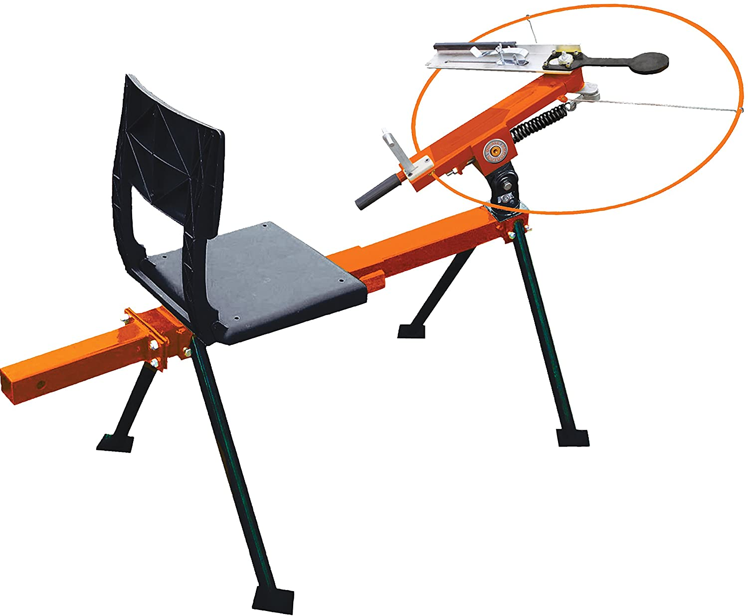 do all outdoors pro single 3/4 cock trap with seat
