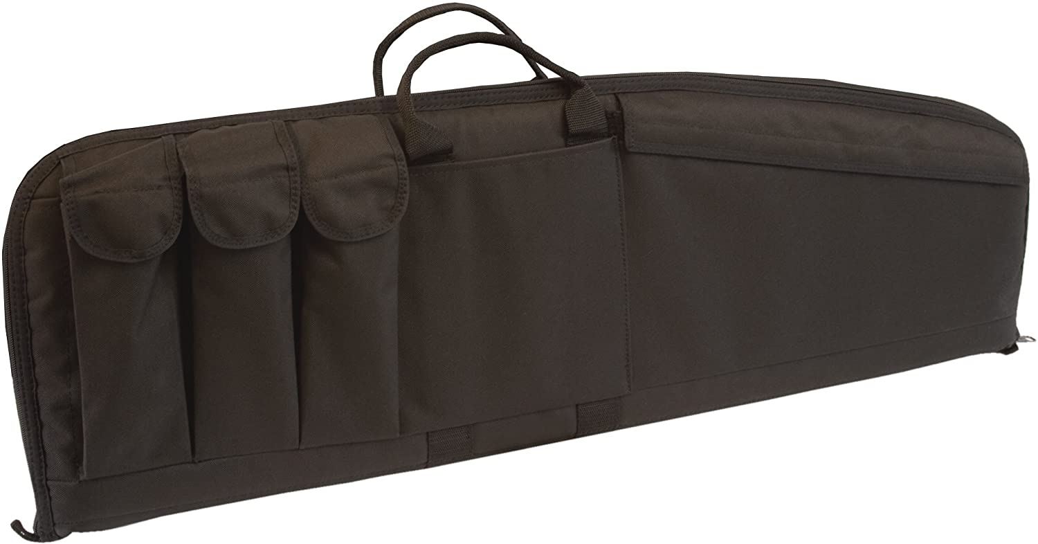 uncle mike tactical rifle bag black